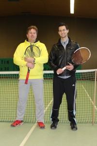 Das Trainer-Team v. l. Franz und Adrian Becker