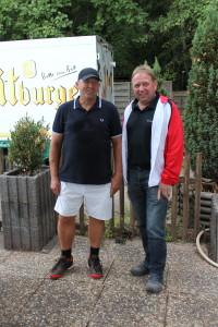 v.l.: 1. Bernhard Raubuch; 2. Herbert Schikofsky;