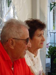 Gründer Willi Wambach mit Gattin