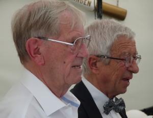 Männer der ersten Stunde: Helmut Heisel und Walter Ihl